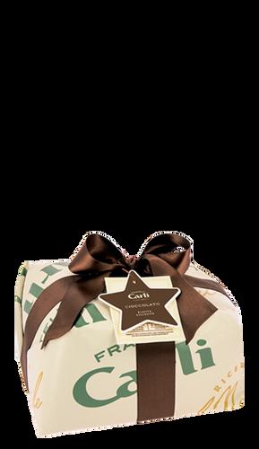 Panettone au Chocolat à l'Huile d'Olive