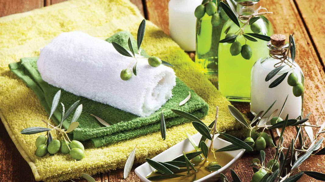 Cosmétiques à l'Huile d'Olive